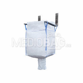 Big bag nový: 090x90x90cm Z/V