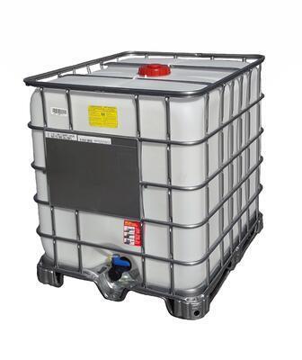 IBC kontejner - nádrž na 1000l - NOVÁ ANTISTATICKÁ !!! Pro hořlaviny I. a II. třídy.