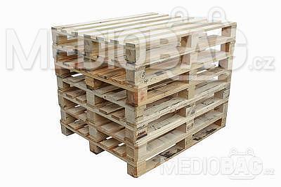 Dřevěná paleta EUR B - tmavá (120x80cm)