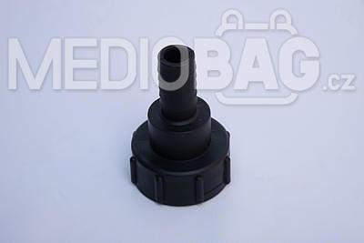 "Redukce (adaptér) na IBC nádrž DN50 - nástavec na hadici 1"" (hadičník - dlouhý) - 1"