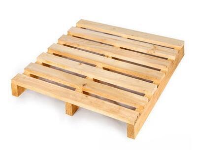 Dřevěná paleta s vyšší nosností 105x108x14cm - 1