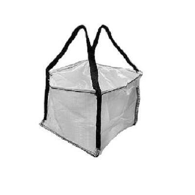 Big bag nový: 060x60x60cm Z/RD 200kg 2x nosný popruh - 1