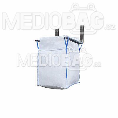 Big bag nový: 060x60x60cm Z/RD 200kg 2x nosný popruh