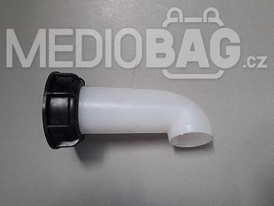 Spodní šroubovací uzávěr (víčko) DN 50 + výpustná hubice