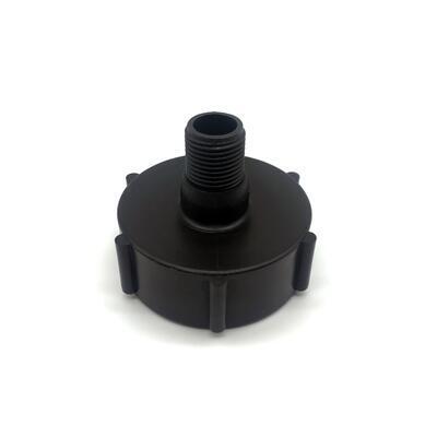"""Redukce (adaptér) na IBC nádrž DN50 - vnější závit jemný 1/2"""" - 1"""