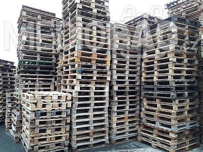 Dřevěná paleta MIX rozměrů - AKCE !!!, Odběr od 50ks - sleva 35Kč/ks+DPH ! Informace na telefonu 775 330 555. - 1