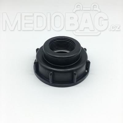 """Redukce (adaptér) na IBC nádrž DN50 - vnitřní závit jemný 1""""  - 1"""