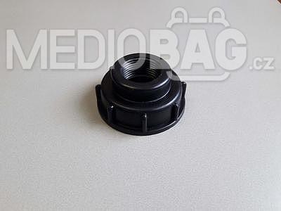 "Redukce na IBC nádrž (adaptér)  DN50 hrubý závit - 1""(vnitřní závit)"