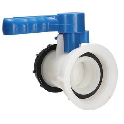 Výpustný kohout na IBC nádrž - rozměr 100mm. - 1