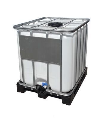 IBC kontejner, nádrž na 1000l NATUR PROFESIONÁLNĚ VYMYTÁ!