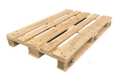Dřevěná paleta EUR A - světlá (120x80cm)