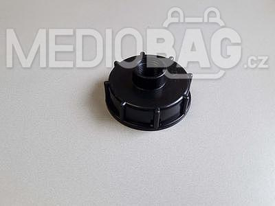 "Redukce na IBC nádrž (adaptér)  DN50 hrubý závit - 1/2""(vnitřní závit)"
