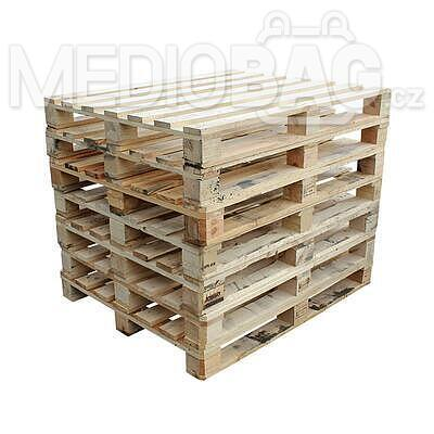 Dřevěná paleta 120 x 100 cm - rámová (1200 x 1000 mm)