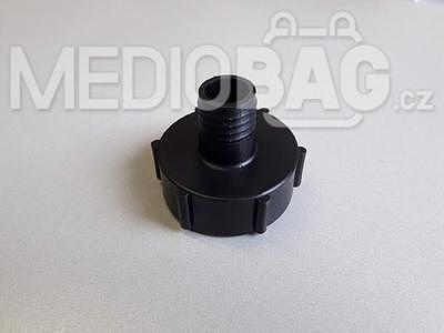 "Redukce na IBC nádrž (adaptér)  DN50mm - nástavec na hadici 1"""
