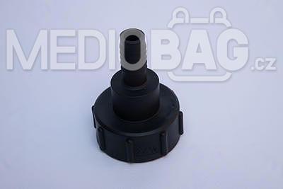 "Redukce (adaptér) na IBC nádrž DN50 - nástavec na hadici 3/4"" (hadičník - dlouhý) - 1"