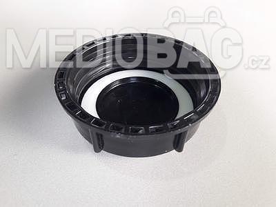 Spodní šroubovací uzávěr (víčko) DN80 (S100x8) pro IBC nádrž