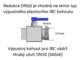 """Redukce (adaptér) na IBC nádrž DN50 - vnější závit jemný 1""""  - 2/3"""