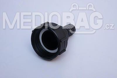 "Redukce (adaptér) na IBC nádrž DN50 - nástavec na hadici 1"" (hadičník - dlouhý) - 2"