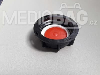 Spodní šroubovací uzávěr (víčko) DN 50 s otvorem pro výpustnou hubici, pro IBC nádrž - 2