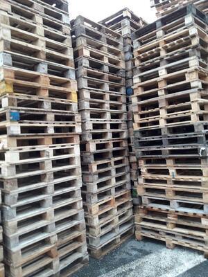 Dřevěná paleta MIX rozměrů - AKCE !!!, Odběr od 50ks - sleva 35Kč/ks+DPH ! Informace na telefonu 775 330 555. - 2