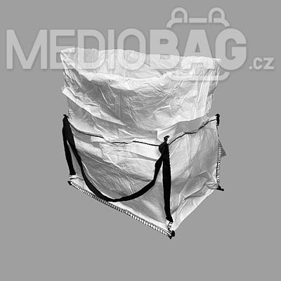 Big bag nový: 050x60x80cm Z/RD 300kg 2x nosný popruh - 2