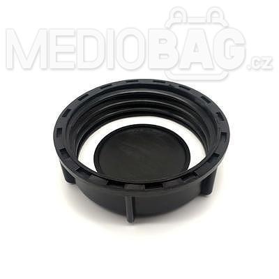 Spodní šroubovací uzávěr (víčko) DN80 průměr100mm-závit (S100x8) (IBC nádrž - kontejner ) - 2