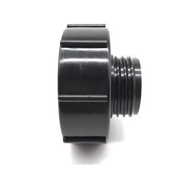 Redukce na IBC nádrž DN80 - DN50 hrubý závit (S60x6) - 3