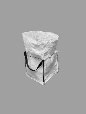 Big bag nový: 060x60x60cm Z/RD 200kg 2x nosný popruh - 3