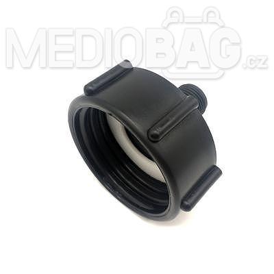 """Redukce (adaptér) na IBC nádrž DN50 - vnější závit jemný 1/2"""" - 3"""