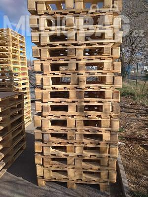 Dřevěná paleta 100 x 100 cm (1000 x 1000 mm) - 3