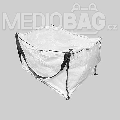 Big bag nový: 050x60x80cm Z/RD 300kg 2x nosný popruh - 3