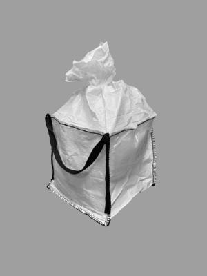 Big bag nový: 060x60x60cm Z/RD 200kg 2x nosný popruh - 4