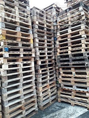 Dřevěná paleta MIX rozměrů - AKCE !!!, Odběr od 50ks - sleva 35Kč/ks+DPH ! Informace na telefonu 775 330 555. - 5