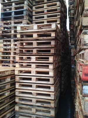 Dřevěná paleta 100 x 100 cm (1000 x 1000 mm) - 5